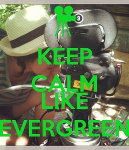keep calm and like evergreen