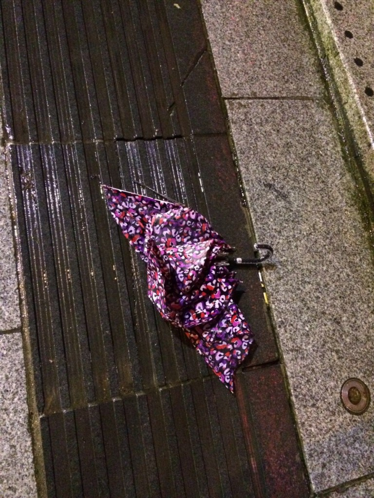 umbrella rainy day birmingham