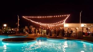 Nunta la piscina