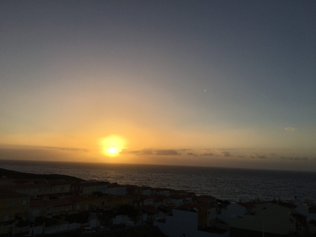 Rasarit de soare in Tenerife